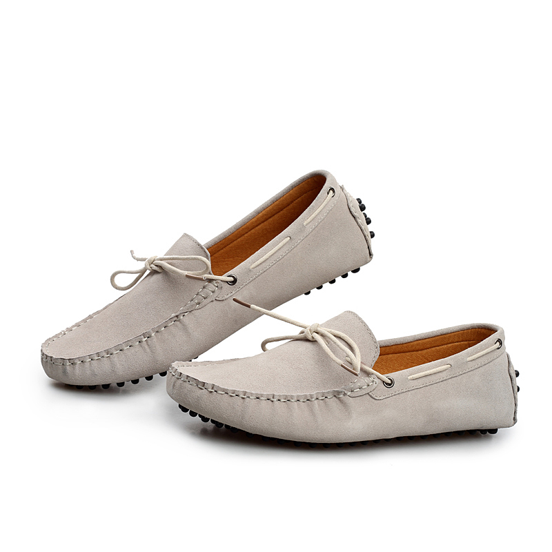 fashion stylish cow suede driving moccasins mens