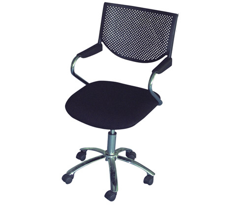 Chair Chrome Base Office Revolving Chair Conference Room Cushion Chair