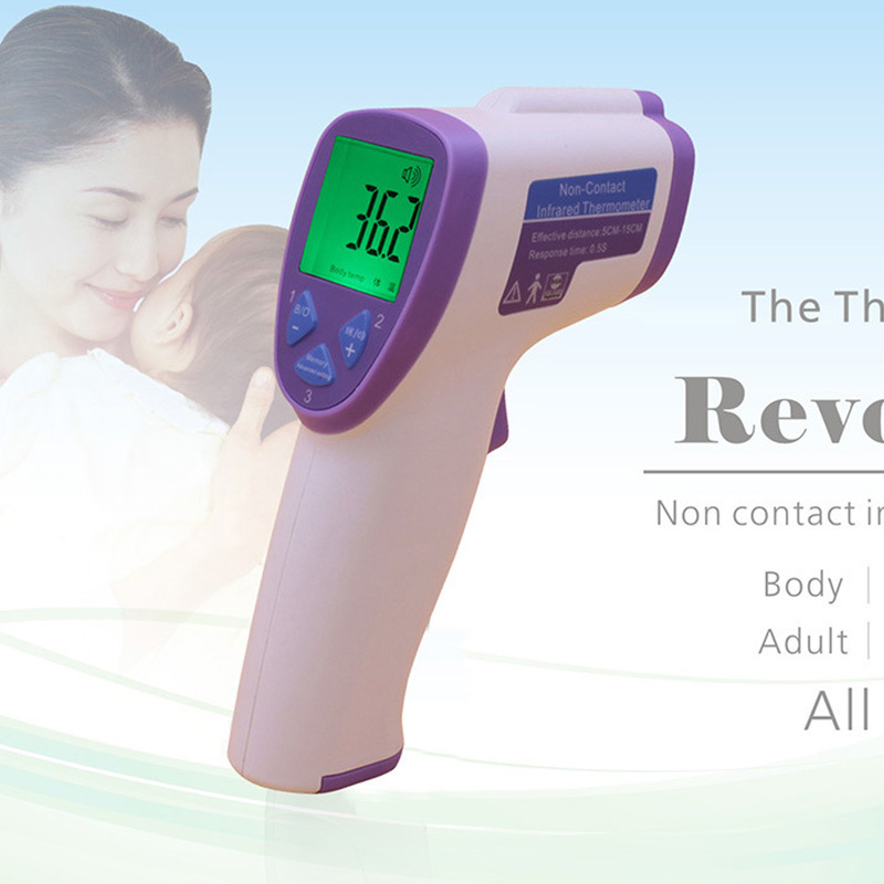 Baby/Adult Electronic Digital Thermometer Non Contact Infrared IR Forehead Muti-fuction Thermometer Infant(China (Mainland))