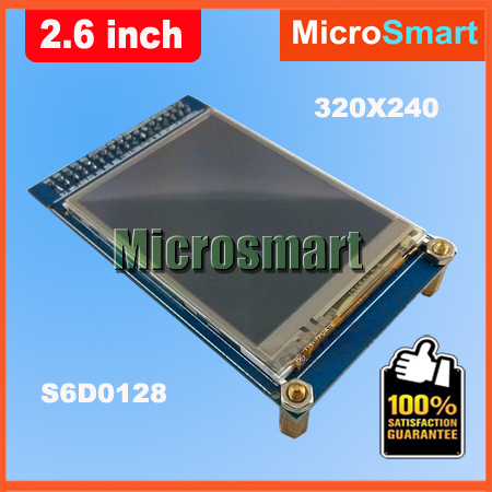 Wholesale 2.6 Inch 240*320 Touch LCD TFT Display Module PCB SPI Port 3.3V R61505 Driver IC(China (Mainland))