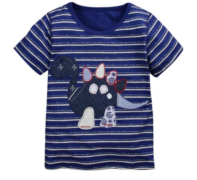 במלאי 2014 חדש לילדים חולצה בנים Tees שרוול קצר חולצות קיץ ילדים לכל היותר קריקטורה תינוק בגדי כותנה איכותי