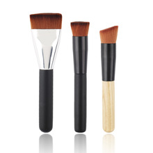 3pcs/set Hot! Flat Contour Powder Brush Multi-Function Blush Brush Blend Makeup Brush kit Foundation Make up Tool