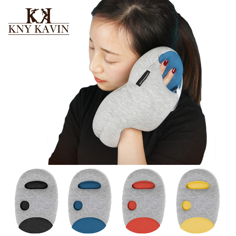 New 2015 Mini Glove Pillow Hot Sales Creative Pillows Ostrich Pillow For SiestaTravelling Free Shipping HH562(China (Mainland))