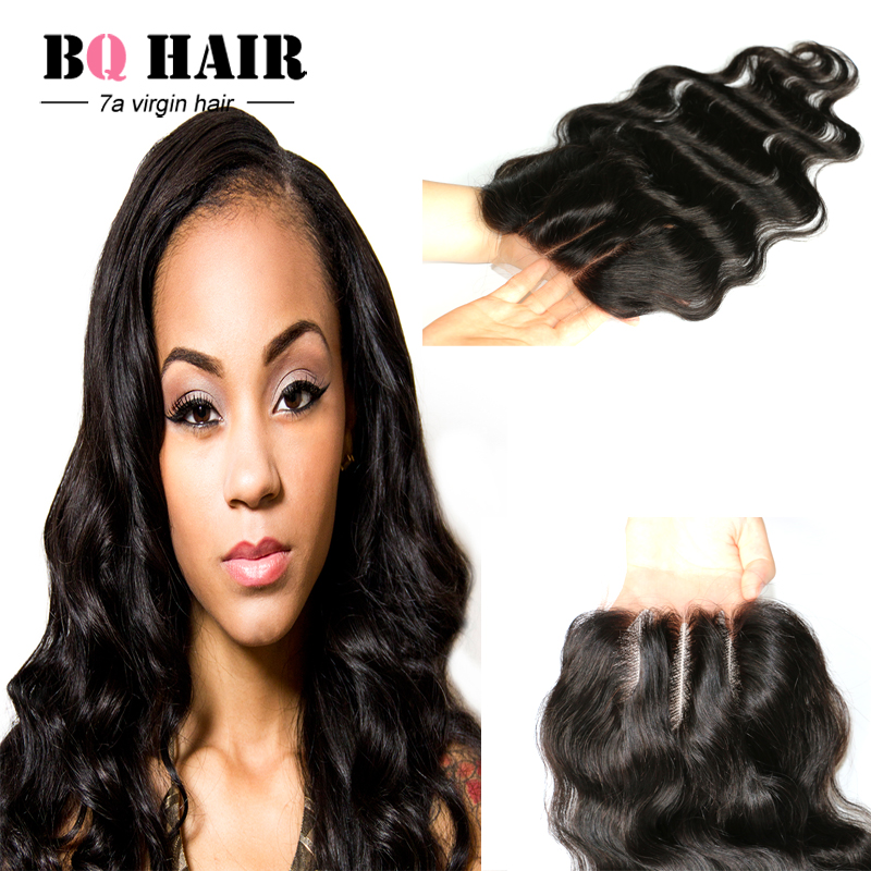 Queen Hair Products Peruvian Virgin Hair Lace Closure Sexy Formula Hair Peruvian Lace Closure Human Hair Clip in Extensions<br><br>Aliexpress