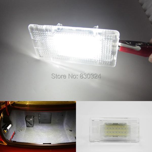 18SMD из светодиодов освещение багажника багажник свет для BMW E36 E39 E46 E60 E65 E82 E88 E70 E71 E84 F01 F02