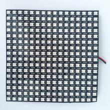 16*16pixels WS2812B led digital(ws2811 IC controlled) flex panel light,size:17cm*17cm,DC5V input(can make customized size)(China (Mainland))