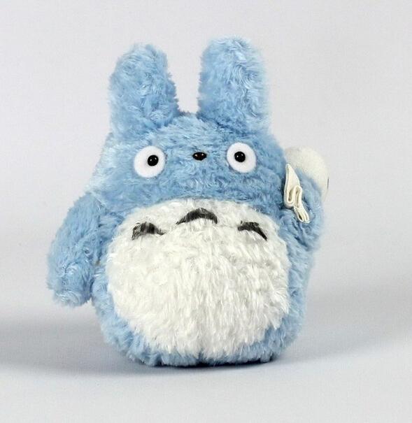 "20cm Studio Ghibli My Neighbor Totoro 8"" Blue Totoro Bean Filled Plush Toy Lovable Soft Stuffed Doll Toy(China (Mainland))"