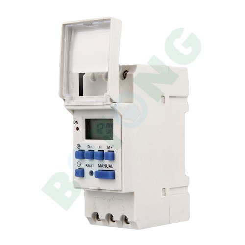 Digital Lcd Week Programmable Timer Time Relay Switch 16a