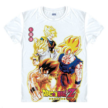 Dragon Ball Z GT T-shirts kawaii Japanese Anime  Manga Shirt Cute Cartoon Cosplay T-shirt Goku Gohan Kibito Super Saiyan 23