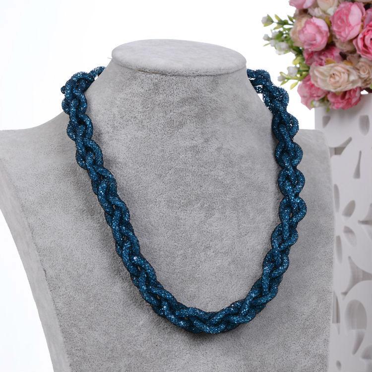 2015 Stardust ожерелье ручной работы дизайн моды девушка колье, ожерелье кристалл Stardust Ожерелье для женщин бесплатная доставка