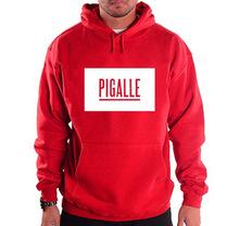 Free Shipping PIGALLE Men's Casual Hoodies Men Hip Hop Hooded Sweatshirts Man Hoody Pullover Winter Fleece Clothing