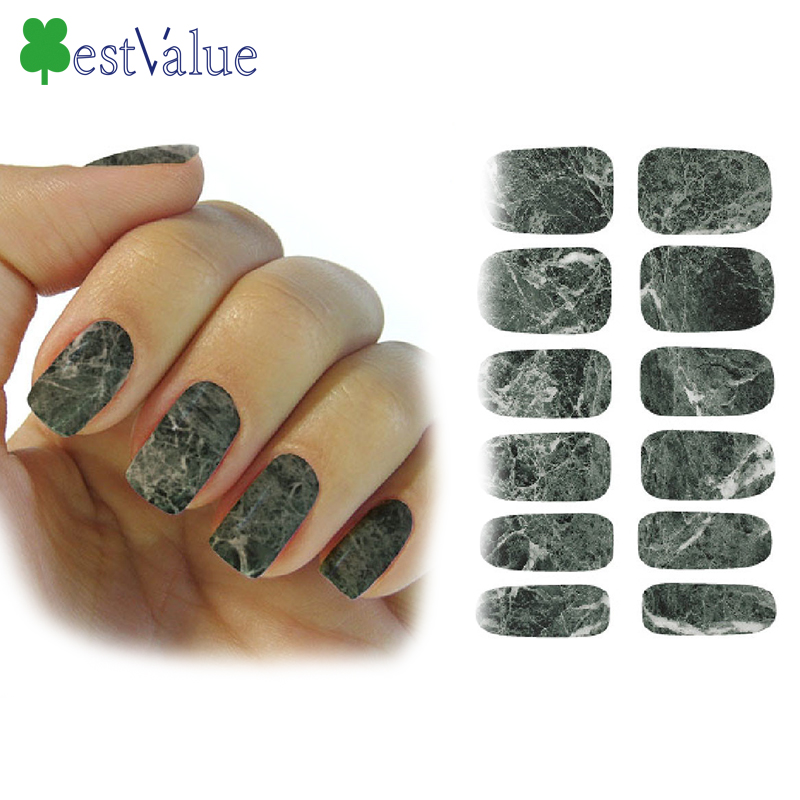 105mmx60mm 1pcs NEW Gradient Marble PatternTransfer Foils Polish Styles Nail Art Stickers Decals Glitter DIY nails BV257992(China (Mainland))