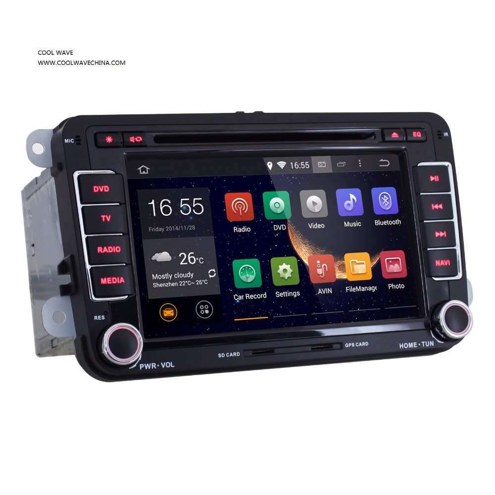 VW Radio RNS510 Android 5.1 HD1024X600 Original Golf 5 6 Jetta Mk5 Mk6 Passat CC Tiguan polo Eos sharan wifi 3G bluetooth ....(China (Mainland))
