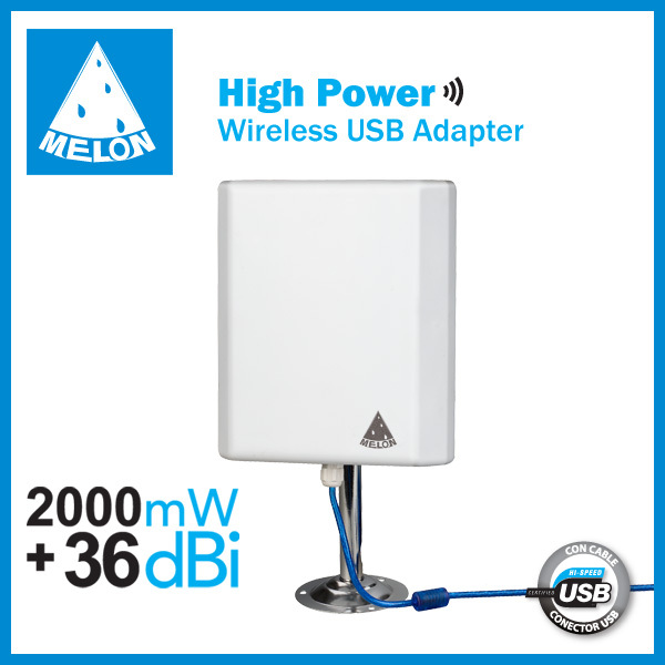2.GHz outdoor 150Mbps high power usb wifi adapter,built-in 36dBi high gain directional antenna(China (Mainland))