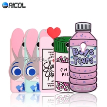 """Buy New 3D Boys Tears Love Potion Chill Pills Silicone Case Meizu M2 Note / Meilan Note 2 5.5"""" Rabbit Soft Cover for $4.84 in AliExpress store"""