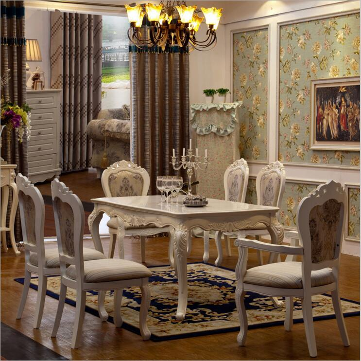 Antique italian chair promotion shop for promotional Luxury wood furniture