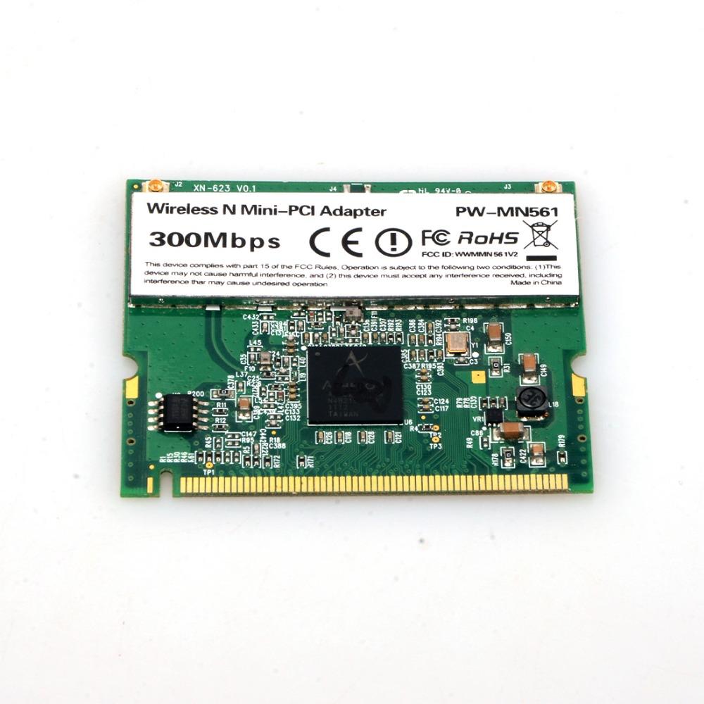 1 PC New AR9223 Mini PCI Network WIFI wireless WLAN Card Laptop 802.11 a b g n s0j12T50(China (Mainland))