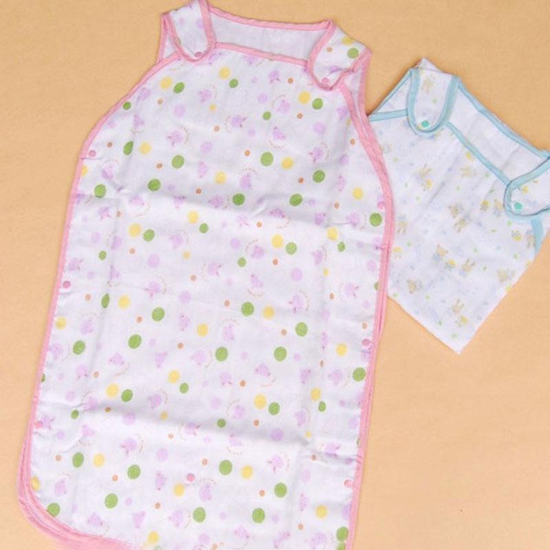 1PC Baby Sleeping Bag Gauze Cotton Summer Baby Kids Vest Kids for Baby Sleeping Bag Thin for Summer Newborns(China (Mainland))