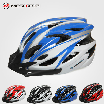 Original MESOTOP Adjustable Ultralight Integrally-molded Net EPS+PC Road Bicycle Cycling Sports Mountain Helmet MTP-2 MTP-3(China (Mainland))
