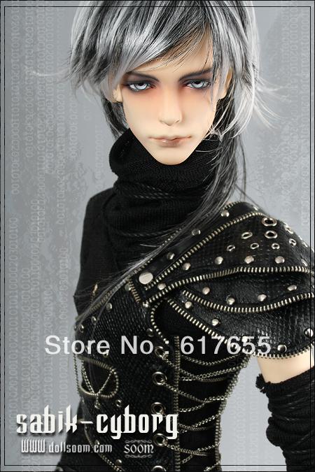 Free shipping,Gift giving(a pair of eyes(radom),a magic cleaner),BJD Doll,soom sabik -Cyborg - I.B.Hunter 1/3(China (Mainland))