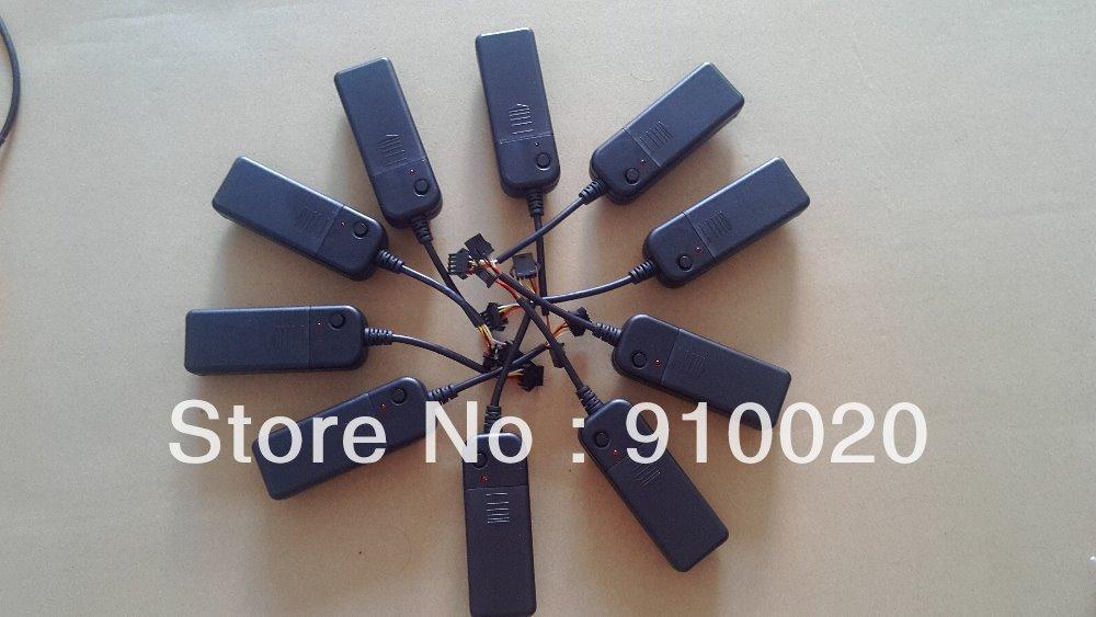 Pcs lot portable dc v el chasing wire inverter
