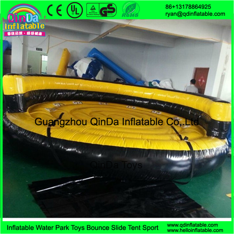 Water Ski Tube Crazy UFO! Adults Inflatable towable sports game for water park(China (Mainland))