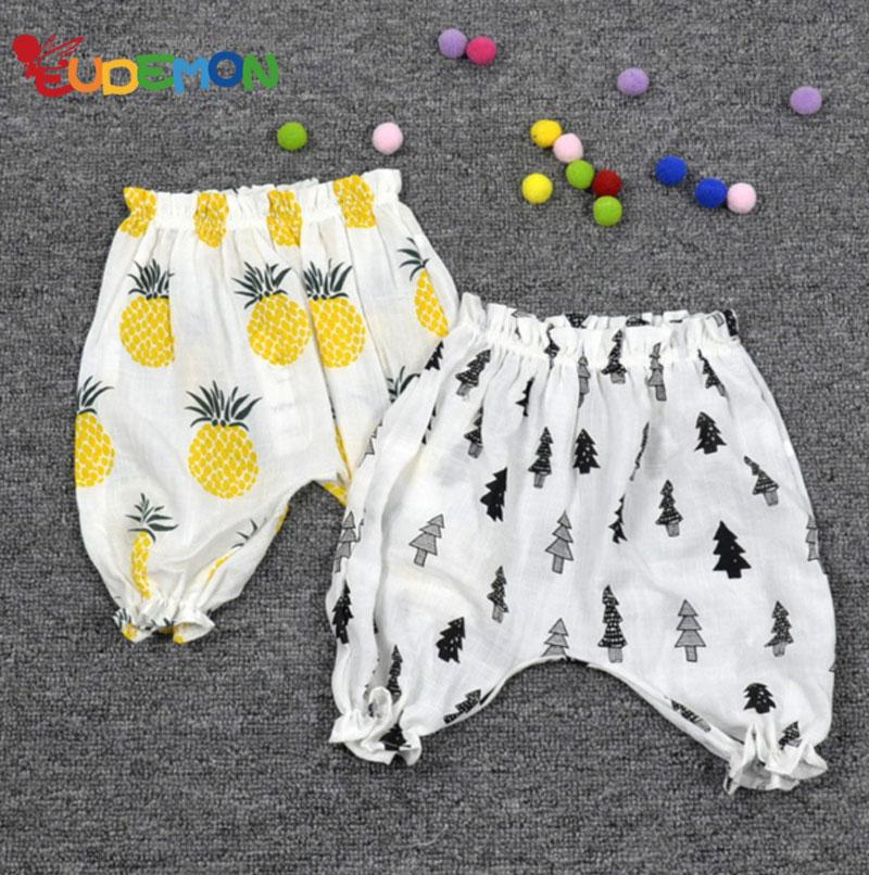 [Eudemon] Fashion Kids leggings Toddler Harem pants Fruit Cute summer leggings girls 2016 New Children Clothes boys pants(China (Mainland))