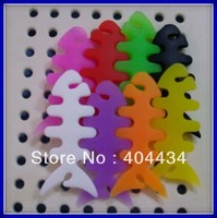 fishbone bobbin winder headset earphone cable lead wrapper winder  more color free shipping 200pcs/lot