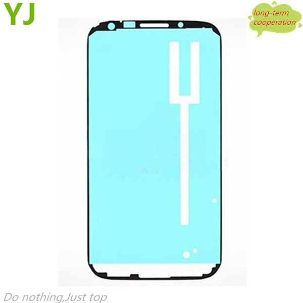 Free shipping Original For Samsung Galaxy note 2 N7100 N7105 I317 Front Housing Frame Bezel Plate Adhesive Sticker