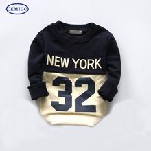 Cemigo 2016 New Boys Hoodies Kids Long Sleeve T-shirt Children Sport Hoodies Boys Fashion Tops IB514(China (Mainland))