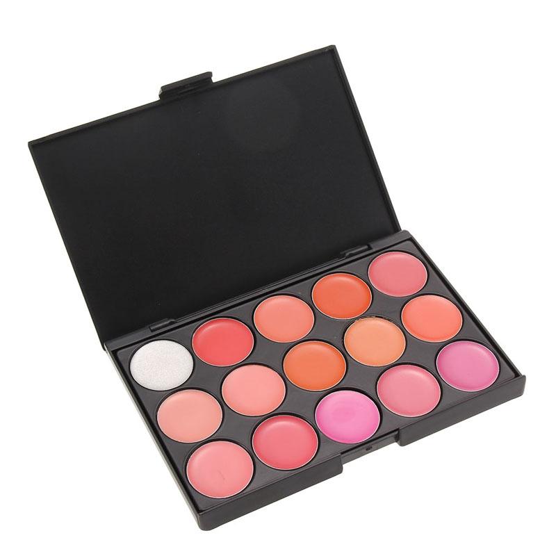 High Quality 15 Colors Lip Gloss Palette Makeup Lipstick Palette Lipgloss Lips Lip Pigment Lip Palette GUB#(China (Mainland))