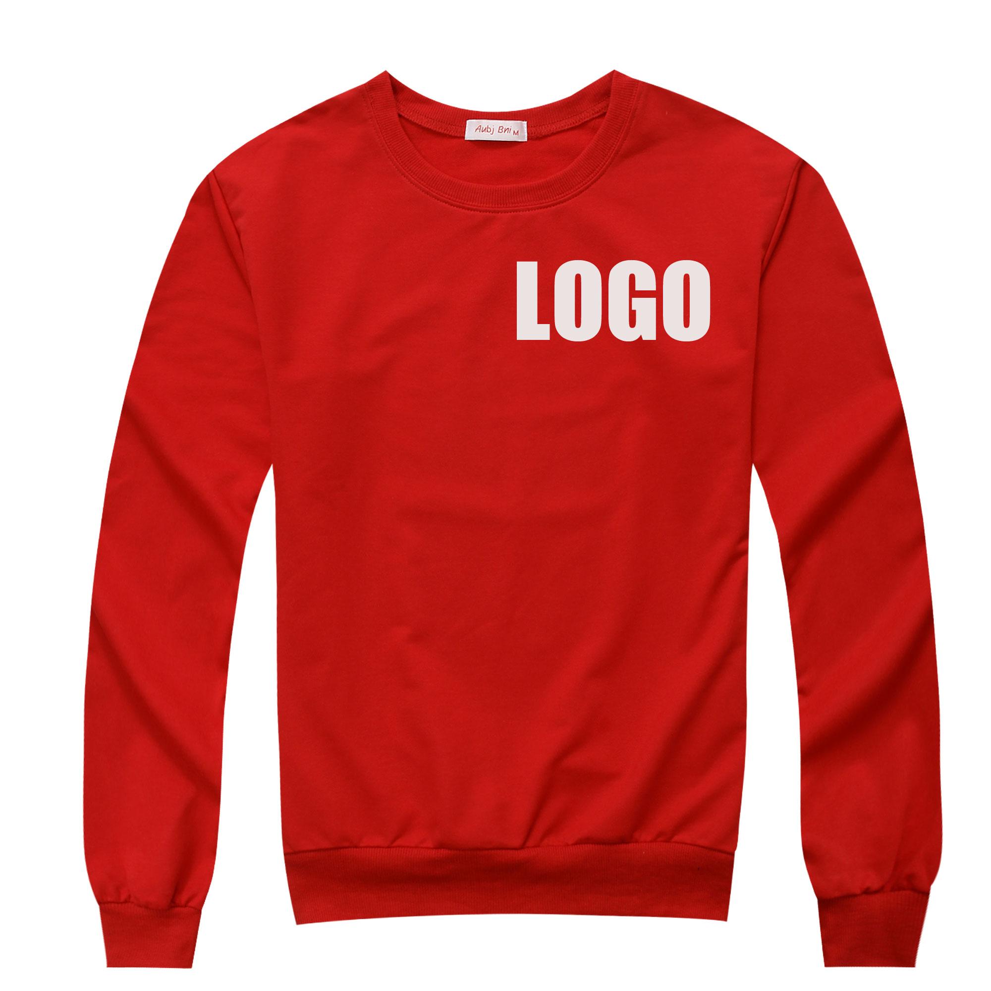 Custom logo DIY sweatshirt long sleeve pullover 250g hoodies autumn plain personalized printing logo embroidery hoody jumper(China (Mainland))