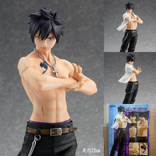 Classic Anime Gsc Fairy Tail Gray Fullbuster Action Figure Pvc 22cm The 2nd Ver. Collectible Model Toys 9″ 22cm With Box Toys