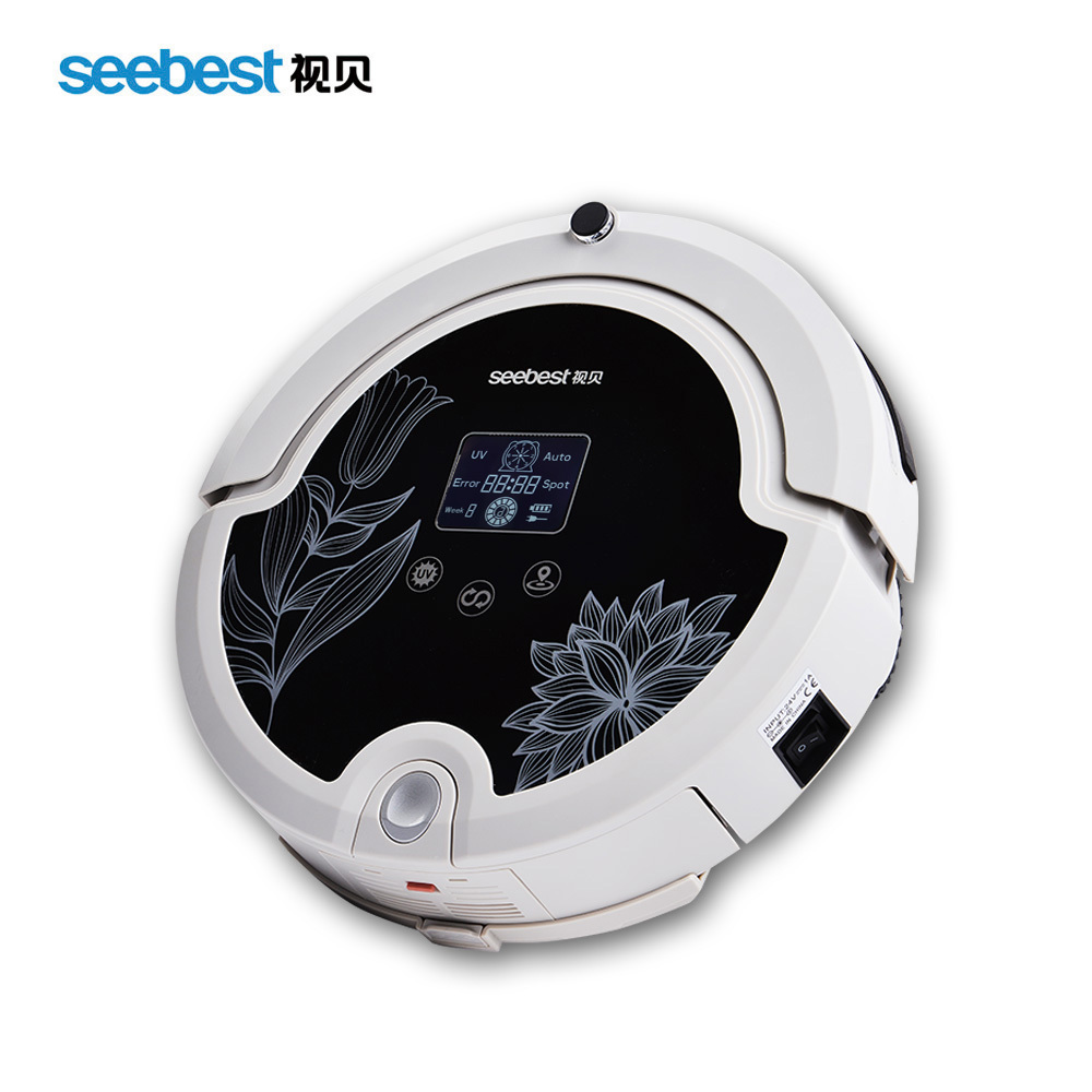 (Free to Russia)Robot Vacuum Cleaner with Remote Control/Intelligent Anti Fall Vacuum Cleaner(China (Mainland))
