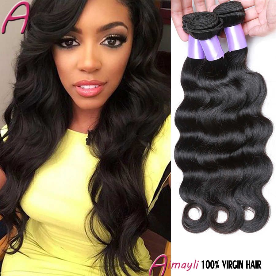 Rosa Hair Products Brazilian Virgin Hair Extensions Body Wave 3 Bundles Rosa Hair Company Brazilian Body Wave Human Hair Weaves
