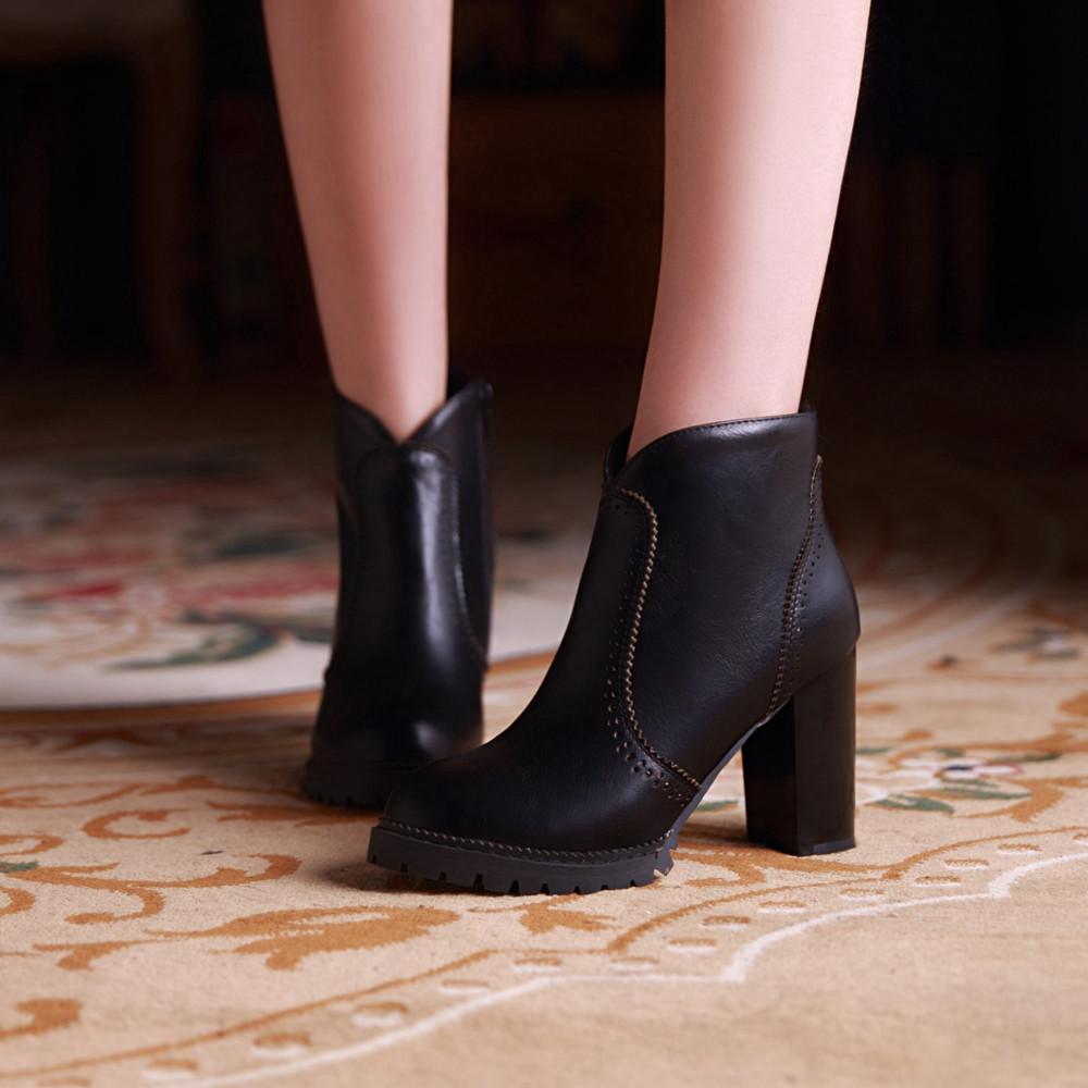 Big Chunky Heels