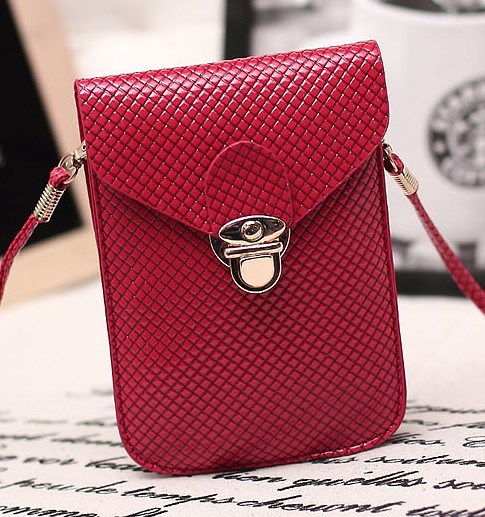 Women's Hand bag Female Messenger Bags Mobile Phone Coin Purse Bags More Colors(China (Mainland))