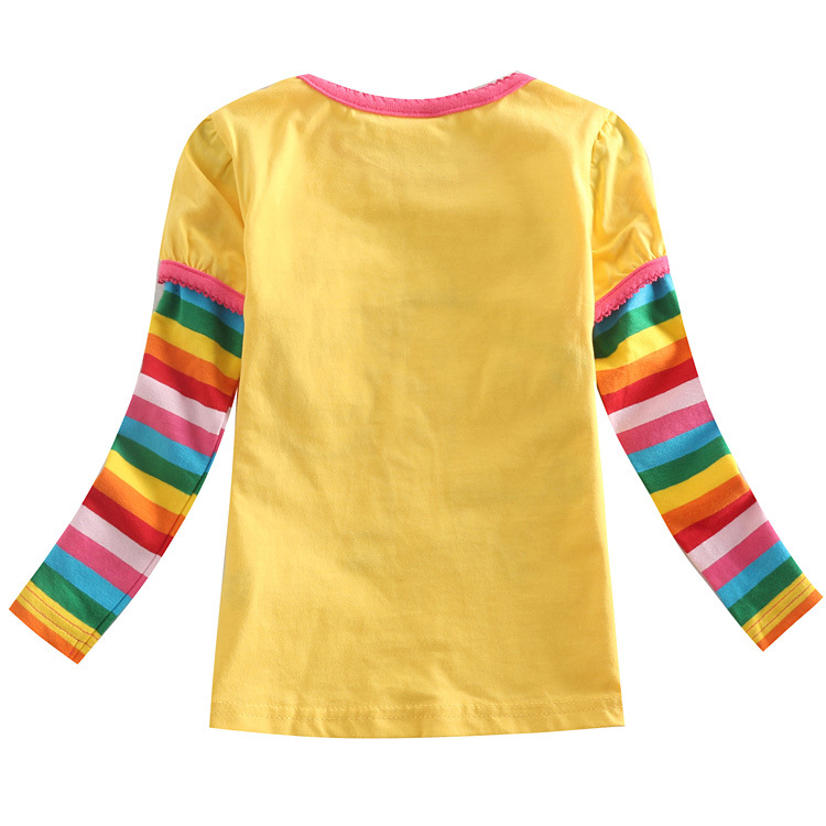 Buy fashion 2 6t brand girl t shirt for Yellow t shirt for kids