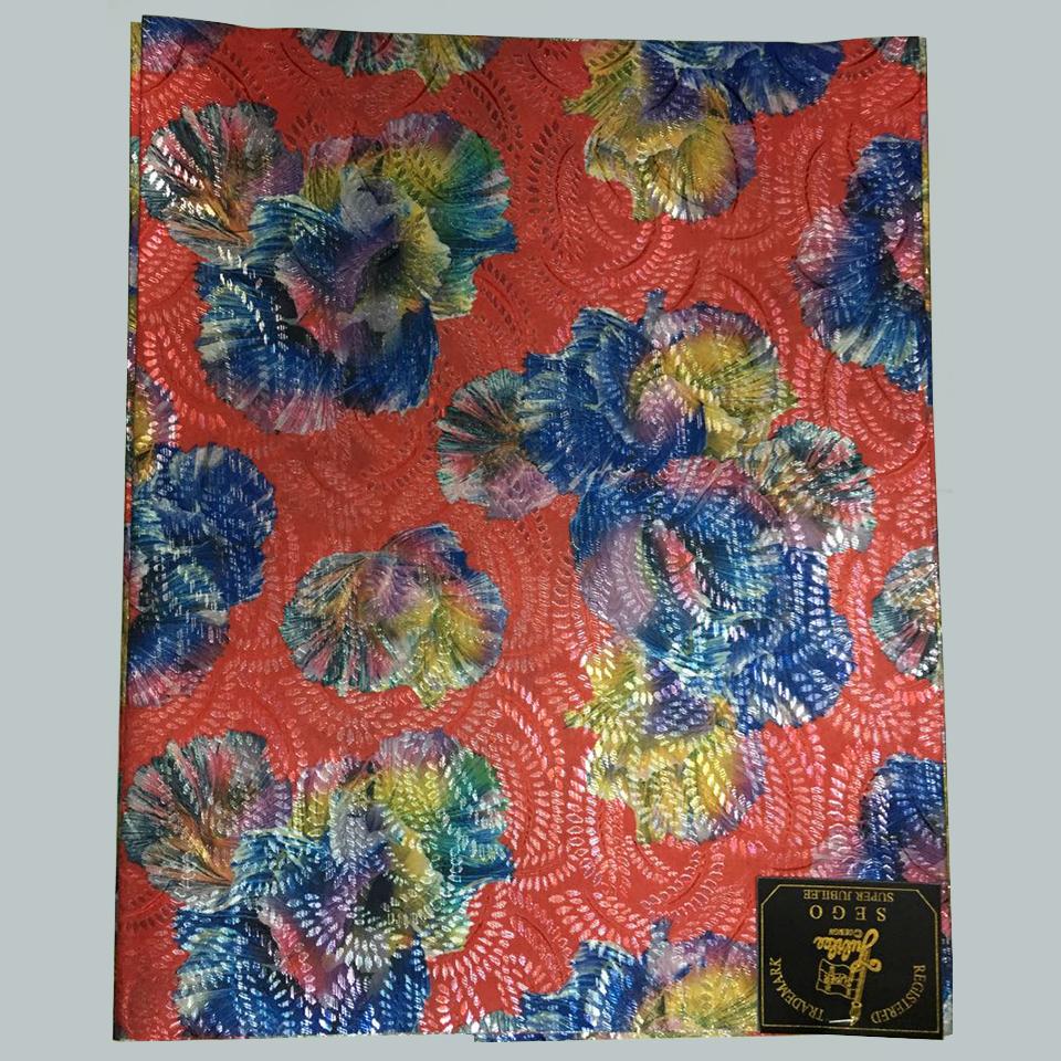 African gele wrapper,multicolored african gele head tie wedding geles,Orange&blue Jubilee Sego nigeria headtie 2 pcs LXLH3-2(China (Mainland))