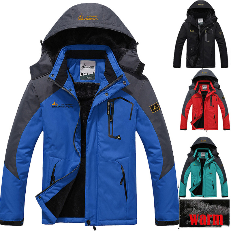 Fashion Winter Mens jacket Hooded parka coat thermal outerwear men women thick waterproof windbreaker jackets jaqueta Windproof(China (Mainland))