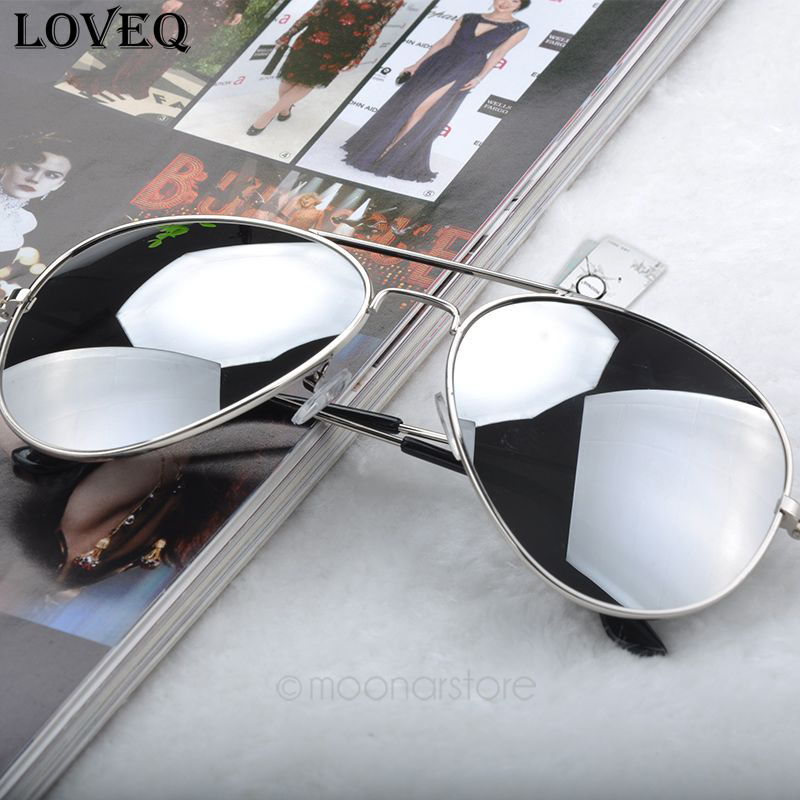 New 2015 Fashion Sunglasses Men Women Girls Cool Bat Mirror UV Protection Aviator Sun Glasses Eyewear gafas de sol #7(China (Mainland))