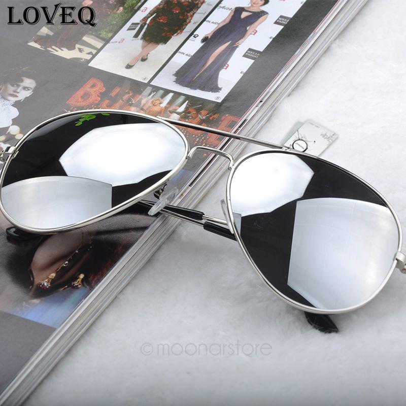 New 2015 Fashion Sunglasses Men Women Girls Cool Bat Mirror UV Protection Aviator Sun Glasses Eyewear gafas de sol #5(China (Mainland))