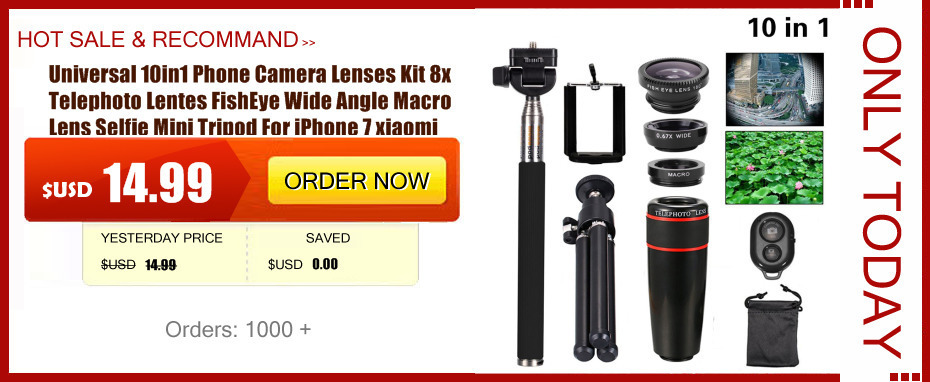 High Quality 12x Zoom Phone Camera Lenses Telephoto Optical Lens Telescope Clips Mobile Tripod For iPhone 5s 6 6s 7 Plus Xiaomi