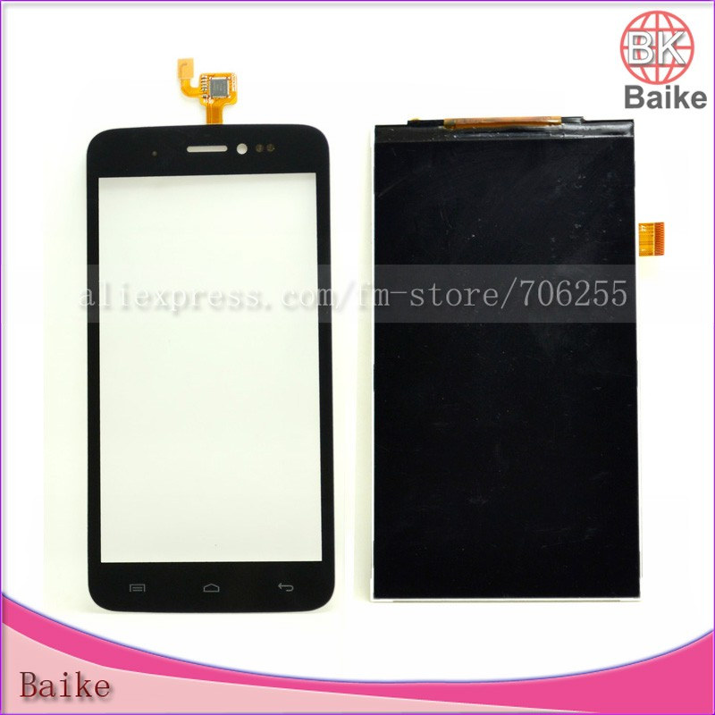 Explay Rio Digitizer Touch Screen Panel Glass + Lcd Screen Display Panel + Tracking Number(China (Mainland))