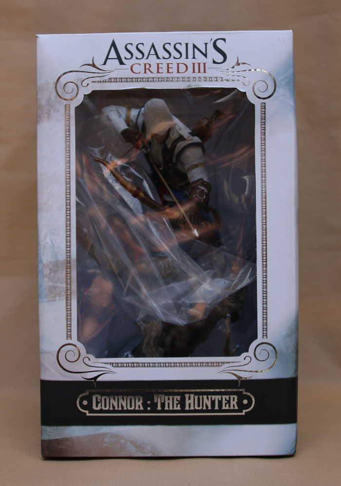 Hot Sale  Connor The Hunter Figurine Classic Game Assassins Assassin's Creed 3 III 10