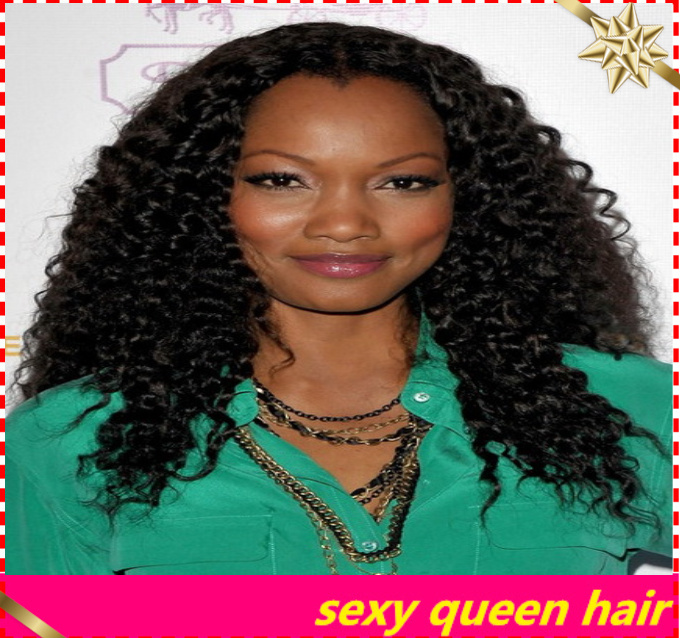 New hair style curly lace front synthetic wigs curly afro wig female haircut with baby hair for fashion black women(China (Mainland))