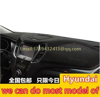 accessories dashboard cover for Hyundai Accent Verna Grand Starex H-1 Elantra Avante Santa Fe tuscon ix35 ix25 ix45 sonata i30
