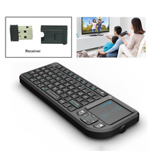 Buy PC Notebook Smart Google Android TV Box: Rii mini X1 Handheld 2.4GHz RF Wireless Keyboard Qwerty Touchpad Fly Air Mouse for $26.99 in AliExpress store
