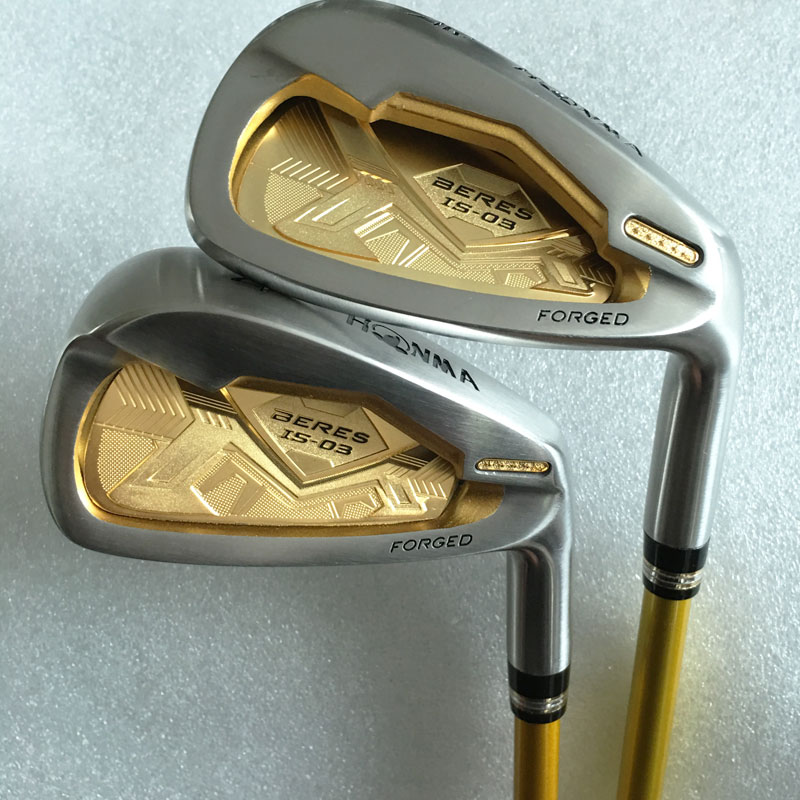 New mens Golf clubs Honma IS-03 4 star Golf irons set 4-11 Aw.Sw with Graphite Golf shaft Clubs set Free Shipping(China (Mainland))