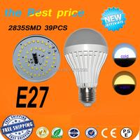 1pcs Wholesale Led E27  Led Bulb 3W 5W 6W 7W 9W 10W 12W 14W 15W  LED Lamp 220V Cold Warm White Bulb Led Spotlight Lamps